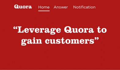 Leverage Quora to gain customers ET Medialabs Digital Advertising Agency in Delhi